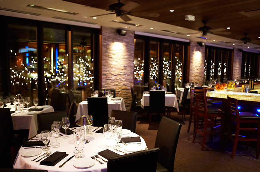 Interior of Ocean Prime Denver