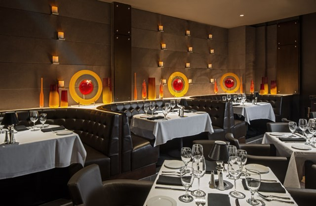 Interior of Ocean Prime Philadelphia