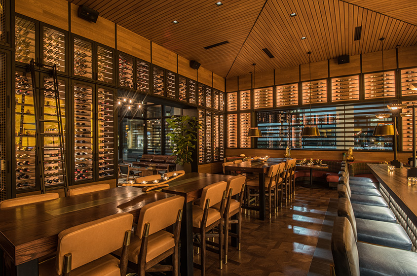 Interior of Ocean Prime Beverly Hills
