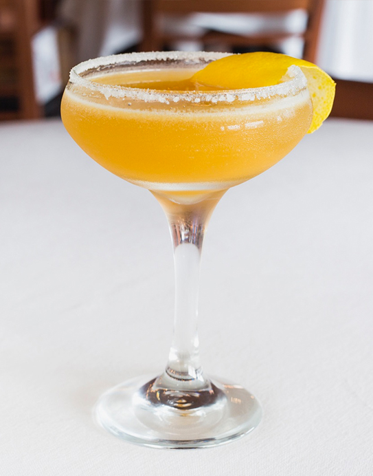 A photo of the Sidecar drink