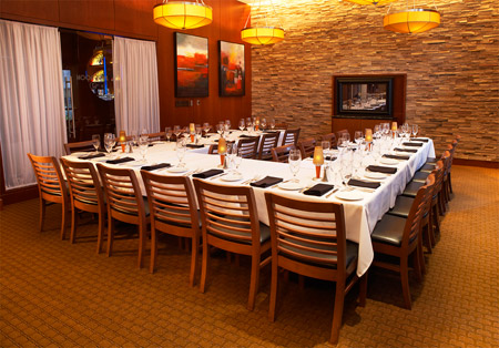 Ocean prime detroit troy prime room 2 prime steak for U shaped dining room