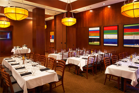Ocean prime orlando rialto prime rooms 1 2 for Best private dining rooms orlando