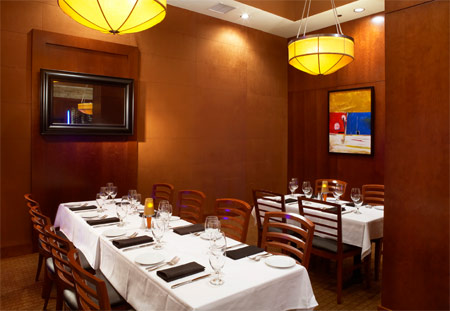 Ocean prime orlando rialto prime room 1 prime for Best private dining rooms orlando