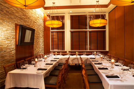 Ocean prime tampa international plaza westshore room for U shaped dining room