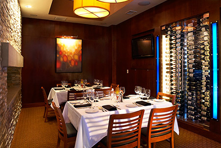 Ocean prime dallas uptown private dining prime for Best private dining rooms dallas