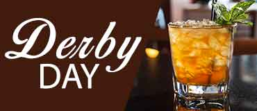 Derby Day Bourbon on the rocks