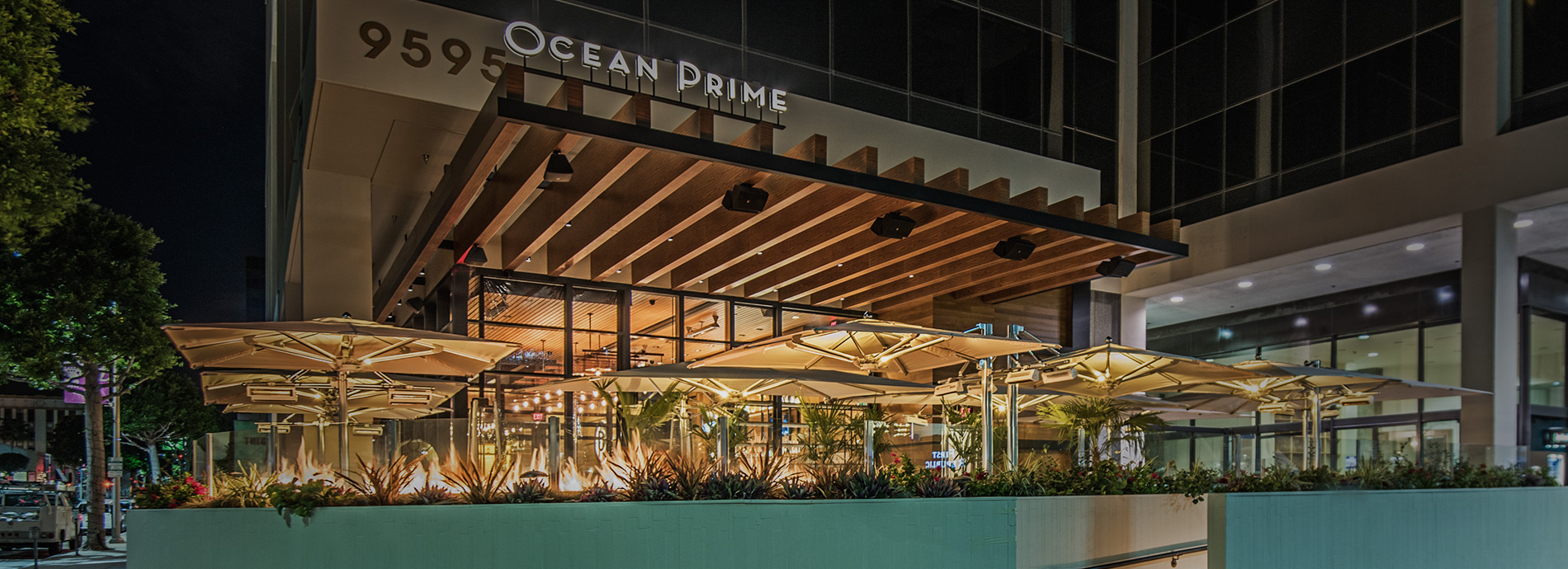Ocean prime beverly hills prime steak fresh seafood fish for Fish grill beverly