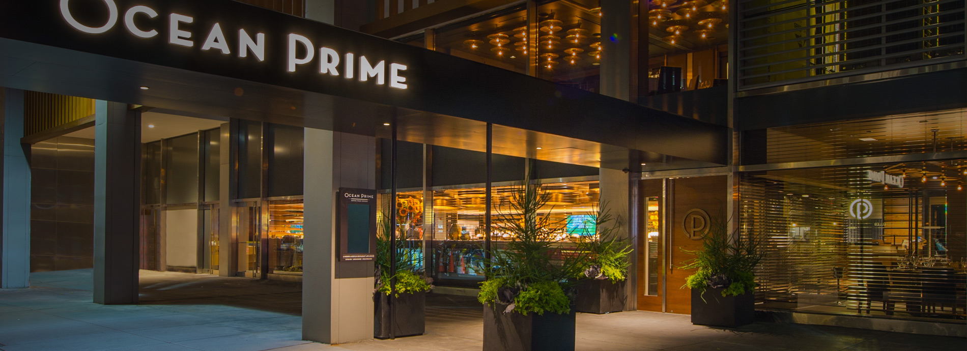 Ocean prime new york city prime steak fresh seafood fish for Fish bar nyc