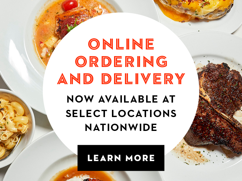 Online ordering and delivery now available at select locations nationwide. Learn More.